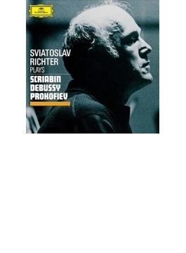 プロコフィエフ:ピアノ・ソナタ第8番、スクリャービン:ピアノ・ソナタ第5番、ドビュッシー:版画、他 リヒテル