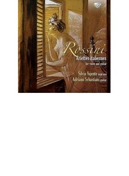 カルッリ:ロッシーニの主題による12のアリエッタ集、ロッシーニ:『音楽の夜会』より ヴァエンテ、セバスティアーニ