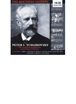 チャイコフスキー作品集~交響曲全集、管弦楽、協奏曲集 ムラヴィンスキー、カラヤン、フルトヴェングラー、クライバーン、スターン、他(10CD)