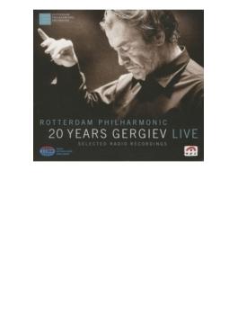 ゲルギエフ&ロッテルダム・フィル/ライヴ録音集(4CD)