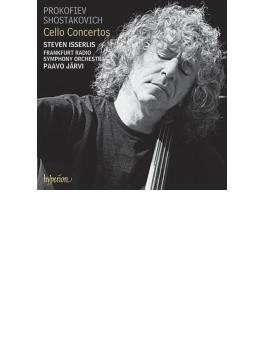 ショスタコーヴィチ:チェロ協奏曲第1番、プロコフィエフ:チェロ協奏曲第1番、行進曲 イッサーリス、パーヴォ・ヤルヴィ&フランクフルト放送響