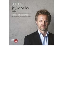 交響曲第2番、第7番 トマス・セナゴー&BBCウェールズ・ナショナル管弦楽団