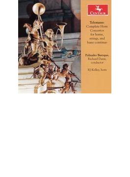 Comp.horn Concertos: R.j.kelley(Hr) R.dunn / Palisades Baroque