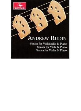 Violin Sonata, Viola Sonata, Cello Sonata: Cuckson(Vn) Deubner(Va) Magill(Vc) Etc