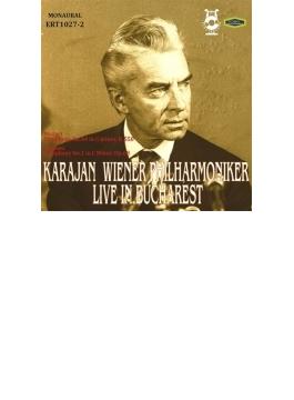 ブラームス:交響曲第1番、モーツァルト:交響曲第40番 カラヤン&ウィーン・フィル(1964年ブカレスト・ライヴ)