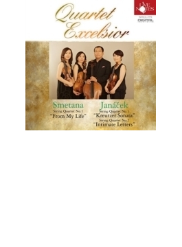 String Quartet, 1, 2, : Quartet Excelsior クァルテット・エクセルシオ +smetana: Quartet, 1,
