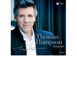 オートグラフ~トーマス・ハンプソン自選ベスト(12CD)