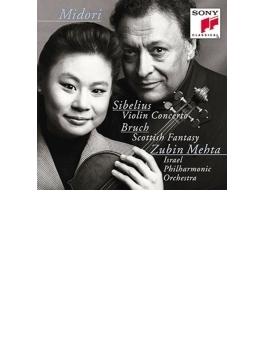 シベリウス:ヴァイオリン協奏曲、ブルッフ:スコットランド幻想曲 五嶋みどり、メータ&イスラエル・フィル