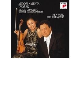 ヴァイオリン協奏曲、ロマンス、序曲『謝肉祭』 五嶋みどり、メータ&ニューヨーク・フィル