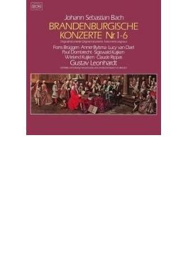 ブランデンブルク協奏曲全曲 レオンハルト、ブリュッヘン、ビルスマ、クイケン兄弟、他(2CD)