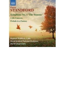 交響曲第1番『四季』、チェロ協奏曲、幻想への前奏曲 ロイド=ジョーンズ&スコティッシュ・ナショナル管、R.ウォルフィッシュ