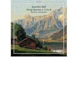 弦楽四重奏曲第2、3、4、8番 マンハイム弦楽四重奏団(2CD)