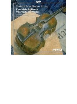 華麗な幻想曲~ヴィルトゥオーゾ・ヴァイオリン作品集 トマス・クリスティアン(2CD)