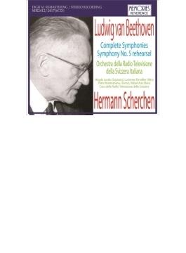 交響曲全集 シェルヘン&スイス・イタリア語放送管弦楽団(1965 ステレオ)(6CD)