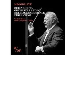 マーラー:交響曲第1番『巨人』、ヴェルディ:テ・デウム メータ&フィレンツェ五月祭管弦楽団、フィレンツェ五月祭合唱団