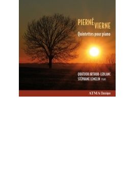 ピエルネ:ピアノ五重奏曲、ヴィエルヌ:ピアノ五重奏曲 ルムラン、アルトゥール・ルブラン四重奏団