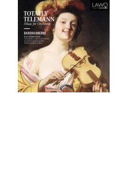 Totally Telemann-music For Orchestra: Barokkanerne (Hyb)
