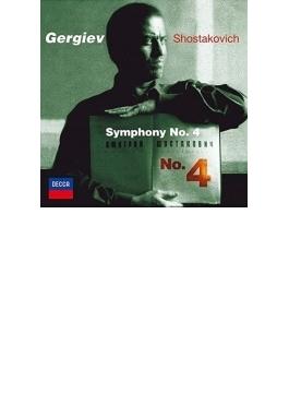 交響曲第4番 ゲルギエフ&マリインスキー歌劇場管弦楽団(2001)