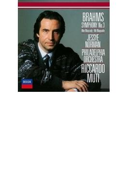交響曲第3番、アルト・ラプソディ ムーティ&フィラデルフィア管弦楽団、ノーマン