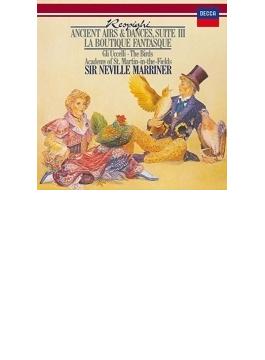 リュートのための古風な舞曲とアリア第3組曲、『鳥』、『風変わりな店』組曲 マリナー&アカデミー室内管