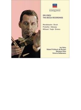 イオン・ヴォイク/デッカ録音集~メンデルスゾーン:ヴァイオリン協奏曲、ブルッフ:ヴァイオリン協奏曲第1番、ラヴェル:ヴァイオリン・ソナタ、他(2CD)