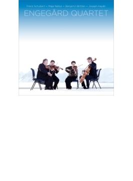 シューベルト:ロザムンデ、ブリテン:弦楽四重奏曲第2番、ラトシェ:鉛と光の物語 エンゲゴール四重奏団(+ブルーレイ・オーディオ)