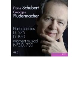 ピアノ・ソナタ集第2集~第17番、第9番、他 プルーデルマッハー