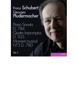 ピアノ・ソナタ集第3集~第14番、4つの即興曲、他 プルーデルマッハー
