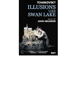 幻想『白鳥の湖のように』 ノイマイヤー振付、チャイコフスキー音楽、ハンブルク・バレエ(2001)(PAL-DVD)