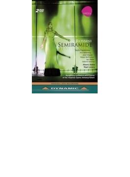 『セミラーミデ』全曲 ローリー演出、ゼッダ&フランダース歌劇場、パパタナシウ、ハレンベリ、他(2011 ステレオ)(2DVD)(日本語字幕付)