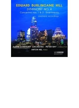 Sym, 4, Piano Concertino, 1, 2, Divertimento: P.bay / Austin So A.nel(P)