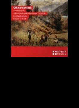 Sommernacht, Penthesilea Suite, Etc: Venzago / Bern So Rothlisberger(Bs-cl) Harnisch(S)