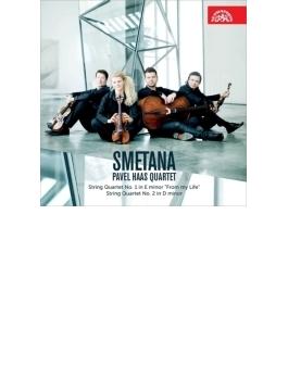 弦楽四重奏曲第1番『わが生涯より』、第2番 パヴェル・ハース四重奏団