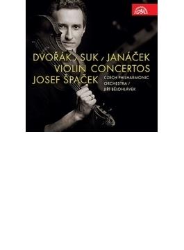 ドヴォルザーク:ヴァイオリン協奏曲、ヤナーチェク:魂のさすらい、スーク:幻想曲 シュパチェック、ビエロフラーヴェク&チェコ・フィル