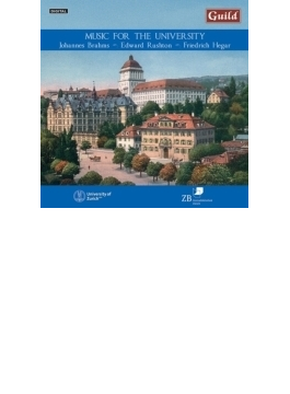 Music For The University Scheuber / Winterthur Zurich Akademischer Cho
