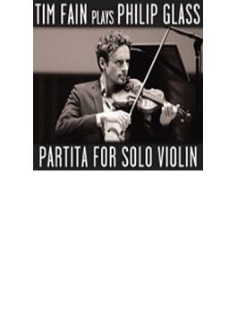 無伴奏ヴァイオリンのためのパルティータ ティム・フェイン