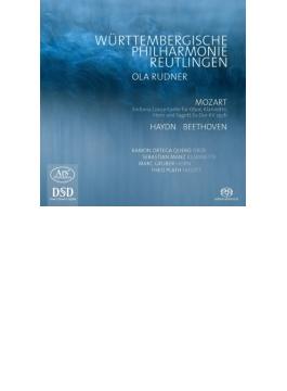 ベートーヴェン:交響曲第8番、ハイドン:『悲しみ』、モーツァルト:管楽器のための協奏交響曲 ルードナー&ロイトリンゲン・ヴュルテンベルク・フィル