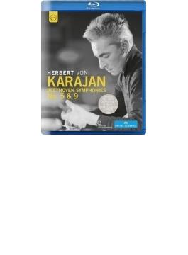 交響曲第5番『運命』(クルーゾー監督、1966)、第9番『合唱』(バートン監督、1977) カラヤン&ベルリン・フィル