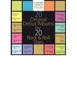 20 Original Debut-albums By 20 Rock 'n' Roll Stars
