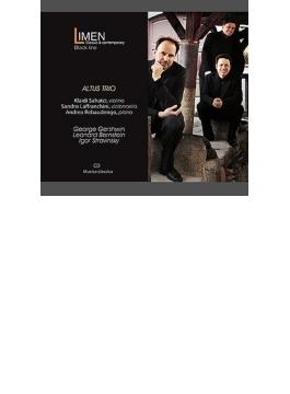 バーンスタイン:ピアノ三重奏曲、ストラヴィンスキー:イタリア組曲(チェロ版)、ガーシュウィン:『ポーギーとベス』より アルトゥス・トリオ