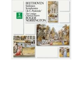 交響曲第6番『田園』、第1番 ノリントン&ロンドン・クラシカル・プレイヤーズ