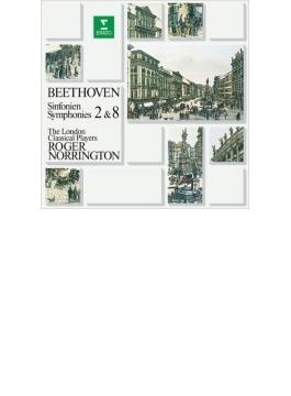 交響曲第8番、第2番 ノリントン&ロンドン・クラシカル・プレイヤーズ