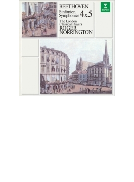 交響曲第5番『運命』、第4番 ノリントン&ロンドン・クラシカル・プレイヤーズ