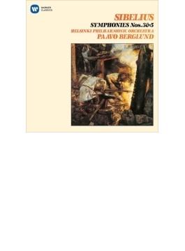 交響曲第3番、第5番 ベルグルンド&ヘルシンキ・フィル