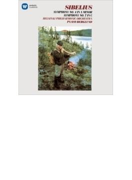 交響曲第4番、第7番 ベルグルンド&ヘルシンキ・フィル