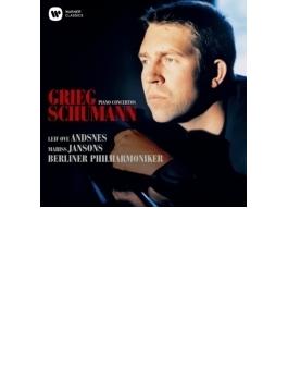 グリーグ:ピアノ協奏曲、シューマン:ピアノ協奏曲 アンスネス、ヤンソンス&ベルリン・フィル