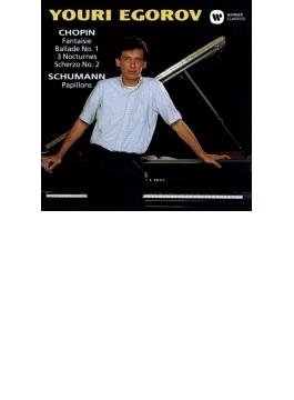 幻想曲、バラード第1番、スケルツォ第2番、夜想曲集 エゴロフ