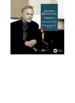 ピアノ・ソナタ第20番、楽興の時 コワセヴィチ