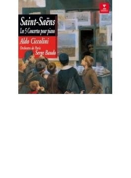 ピアノ協奏曲全集、動物の謝肉祭 チッコリーニ、ボド&パリ管、プレートル&パリ音楽院管(2CD)