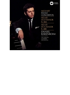 ピアノ協奏曲第20番、第23番 バレンボイム、イギリス室内管弦楽団